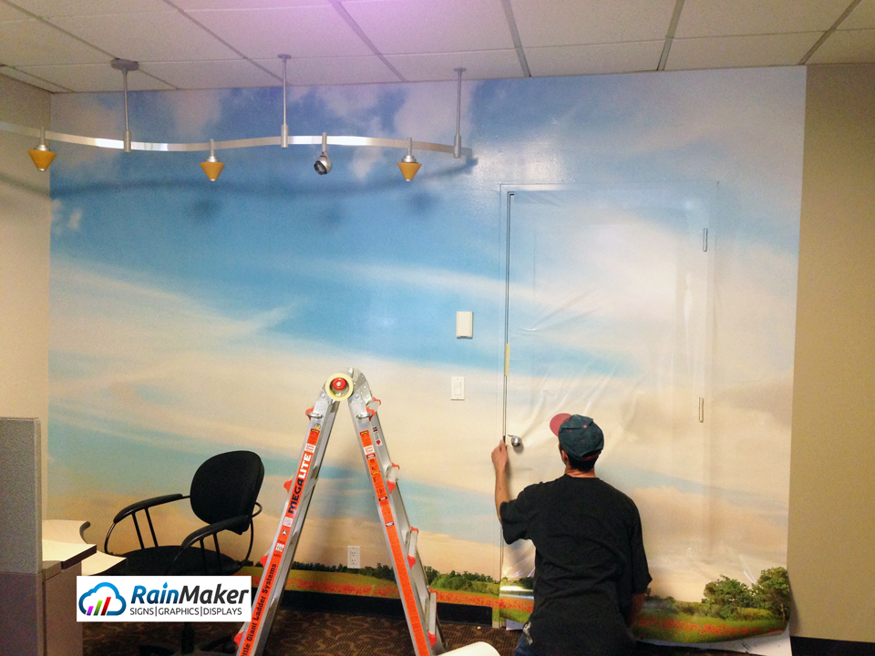 4 Bottom Line Benefits of Office Wall Murals Bellevue WA