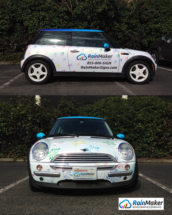 Mini Cooper Wrap >> Wrapping a Mini is No Small Task - Vehicle Wraps - Bellevue, WA