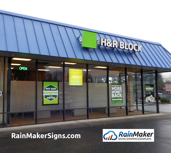 Rainmaker Signs Add Privacy Window Film For Professional