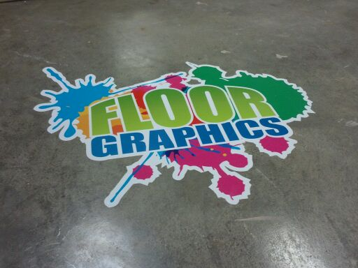 signage product highlight floor graphics quad cities On floor graphics