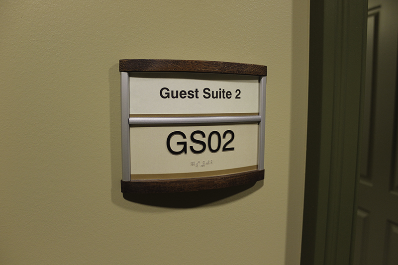 Custom signs for assisted living buildings and communities - Ada interior signage requirements ...