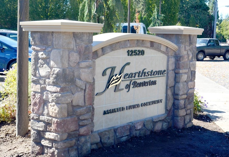 Custom signs for assisted living buildings and communities