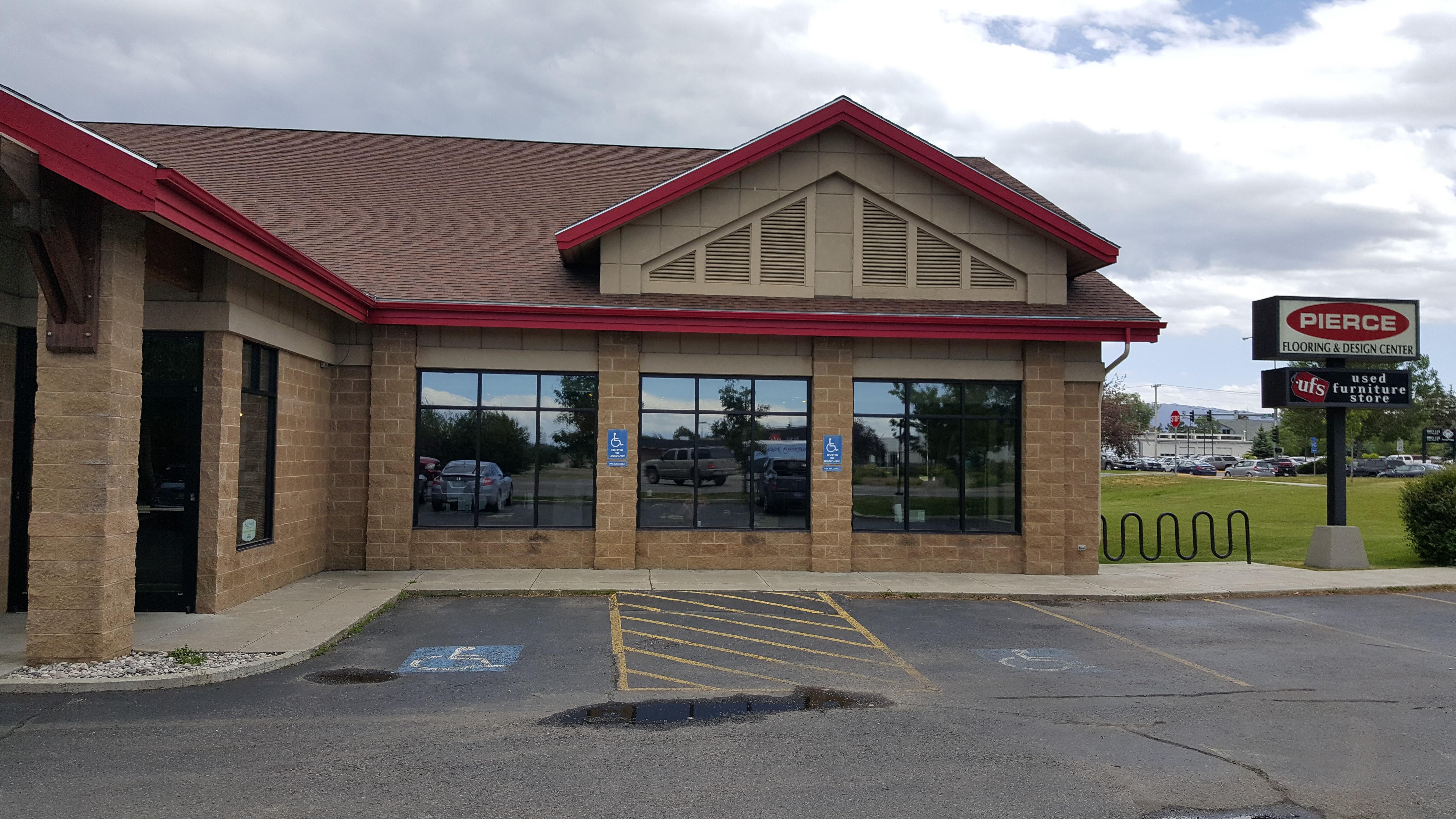 Bozeman Mt Commercial Window Tinting For Pierce Flooring Company