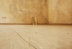 Wet Wooden Floor