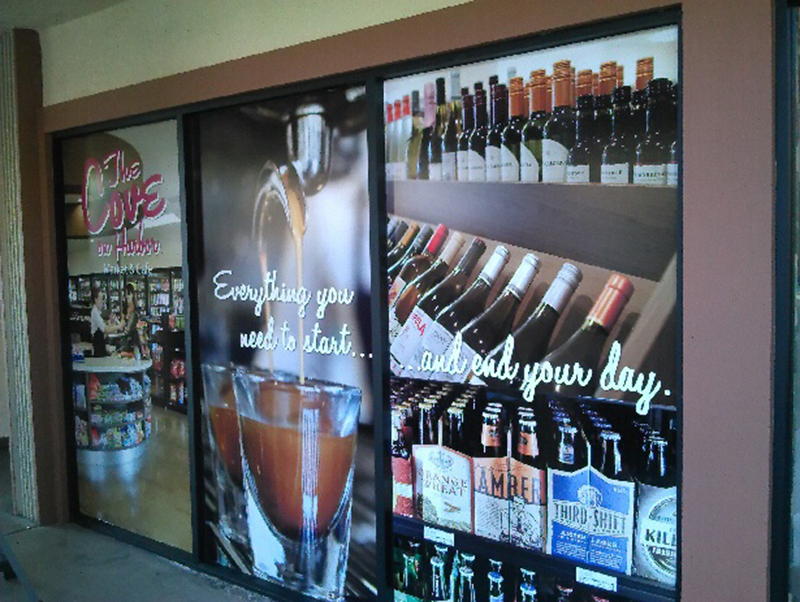 Retail Window Graphics Window Wraps Window Signs
