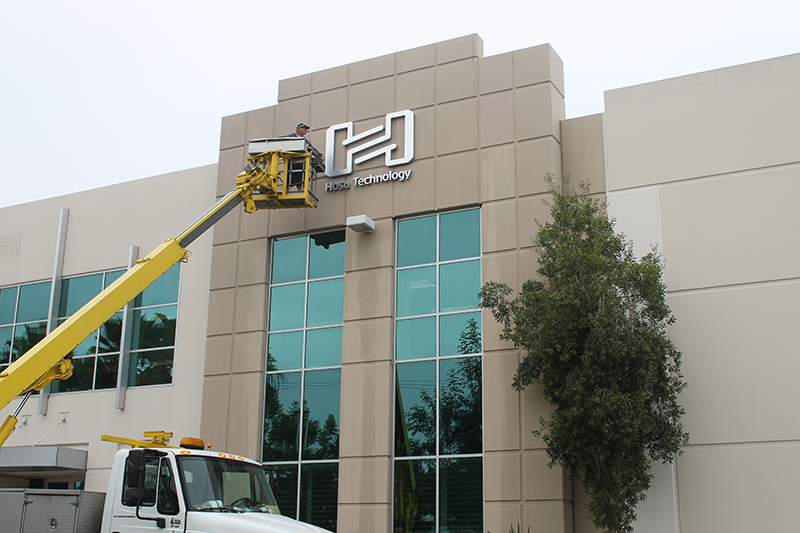 full service sign and design company in Orange County CA