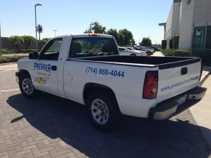 truck decals and lettering, vehicle lettering