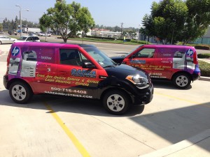 Where to get vehicle wraps repaired in Orange County