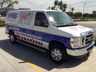 Repair vehicle wraps after an Accident