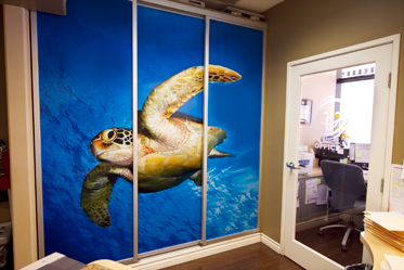 Wall murals and wall graphics for Orange County