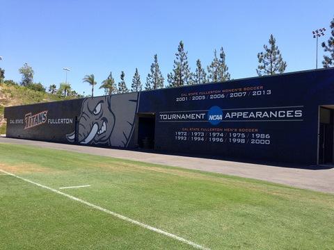 Stadium Wall Wraps Orange County