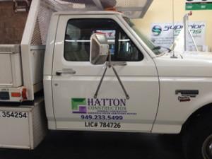 Fleet Vehicle Truck Lettering Programs Orange County