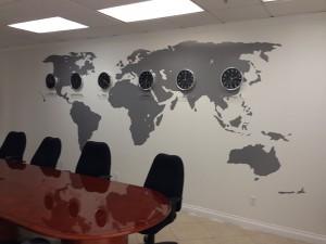 Vinyl Wall Maps Orange County