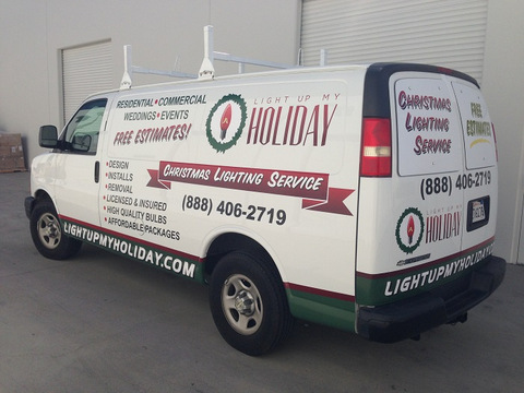 Want Efficient Advertising In Orange County Try Vehicle Vinyl - Vehicle decals for business application