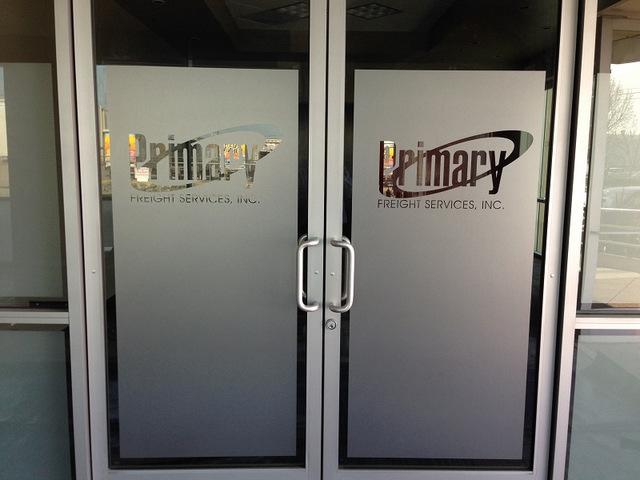 Frosted Vinyl for Doors in Orange County