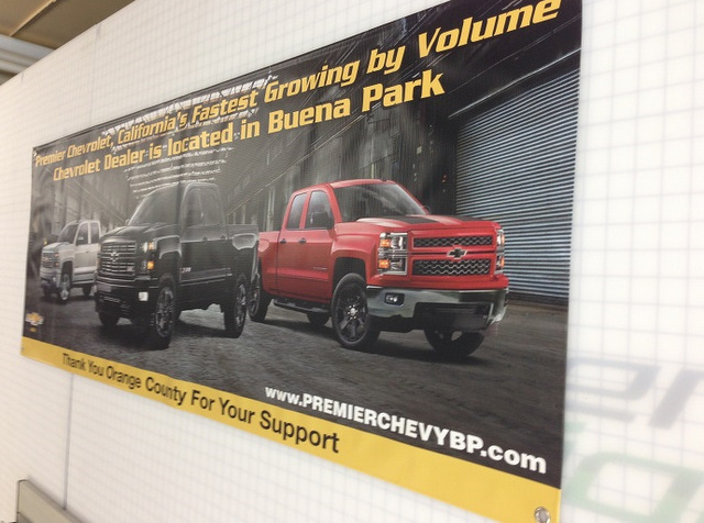 premier chevrolet promotes silverado days with banners. Black Bedroom Furniture Sets. Home Design Ideas