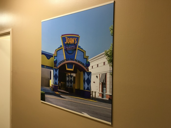 Corporate office wall graphics Orange County CA