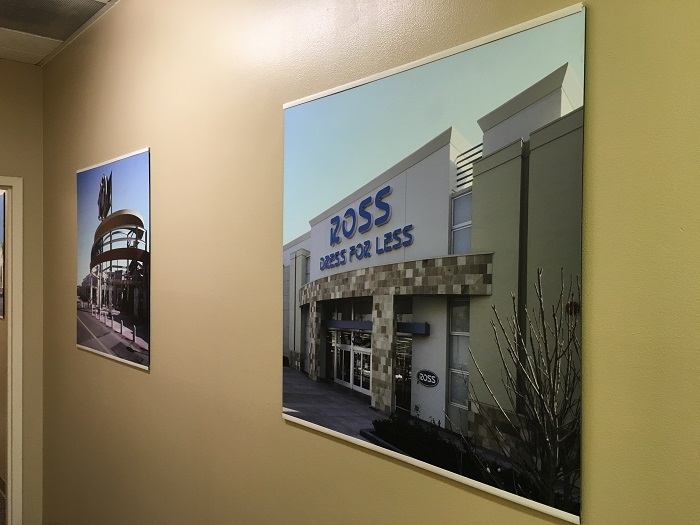 High Resolution Wall Photos for Corporate Lobbies in Orange County CA