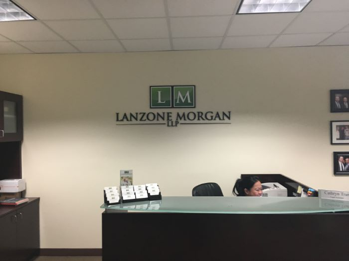Lobby Signs For Law Firms In Orange County CA