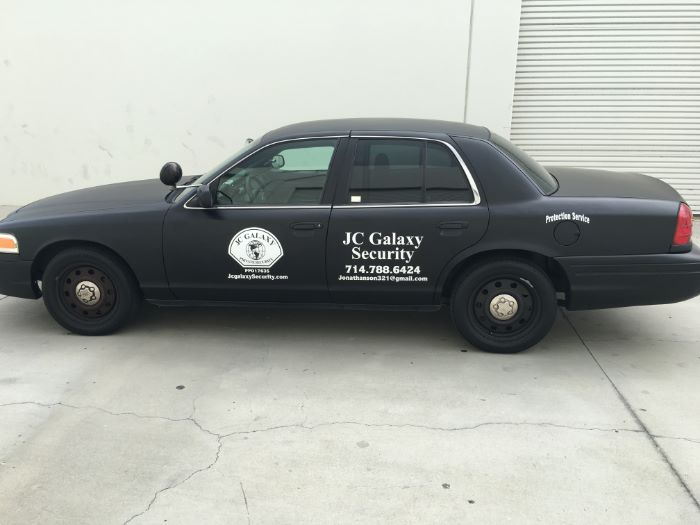 Vinyl Graphics For Security Patrol Companies Give Vehicles