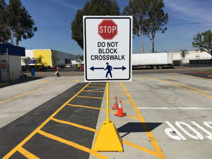 Safety Signs for Warehouses in Orange County CA