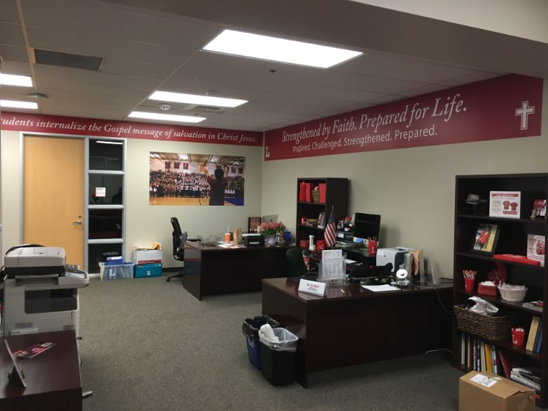 Wall Graphics for Schools in Orange County CA