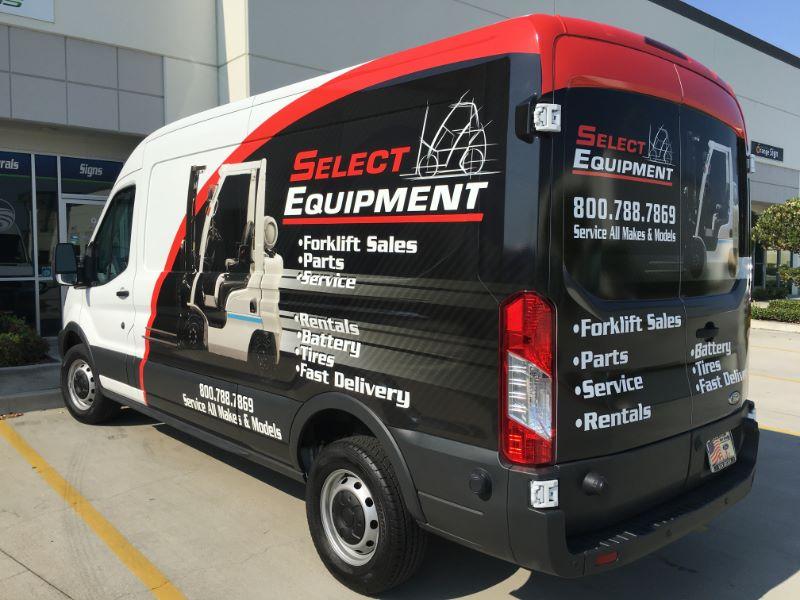 Ford Transit Sprinter Van Wraps in Orange County CA