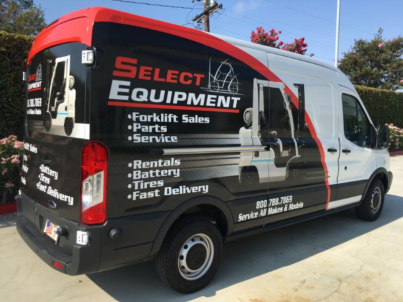 Ford Transit Van Graphics in Orange County CA