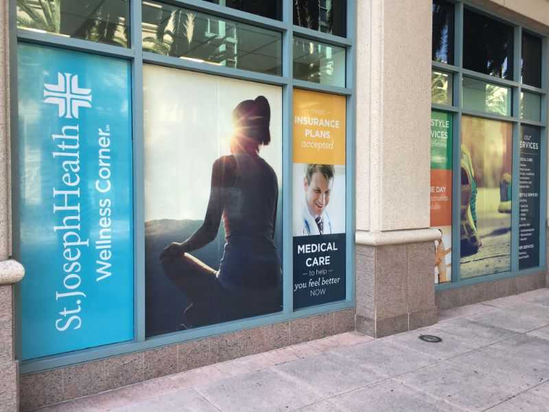 See Through Window Graphics For Healthcare Organizations