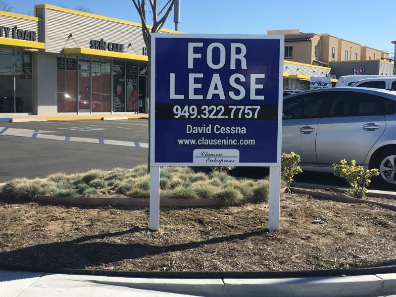 Graffiti Proof Real Estate Signs in Orange County CA
