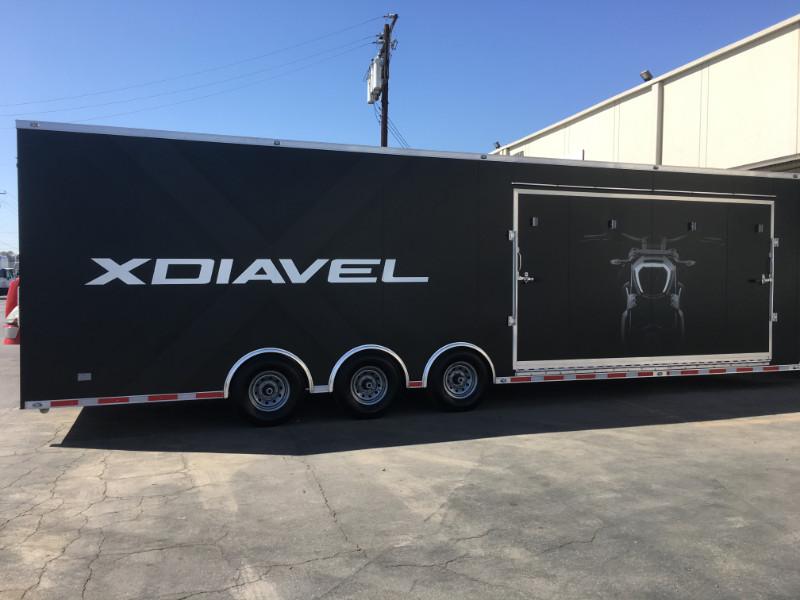 Custom Trailer Graphics in Orange County CA