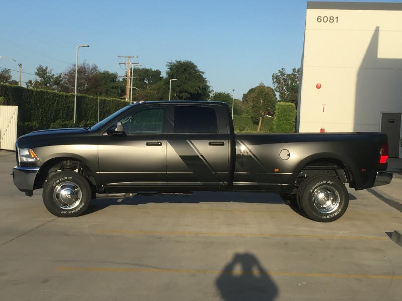 Matte Black Truck Wraps in Orange County CA