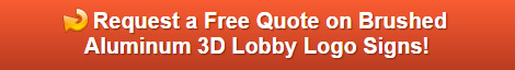 Brushed Metal 3D Lobby Logo