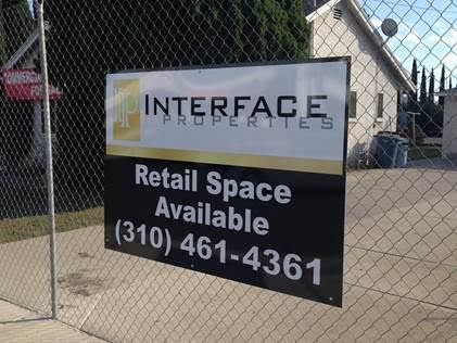 Retail Space Available Property Signs in Orange County CA