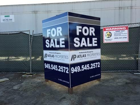 Commercial For Sale Signs in Orange County CA
