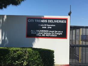 Signs and Graphics for Warehouses and Distribution Centers in Orange County and Los Angeles