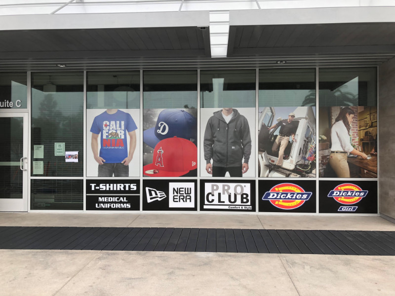 window graphics and perforated window wraps