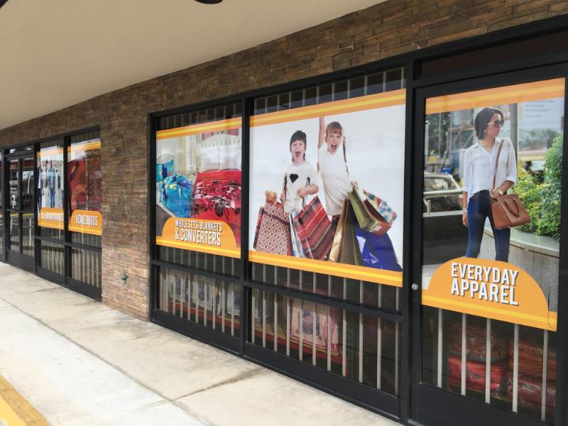 Anti-Graffiti Window Graphics for Retailers in Orange County