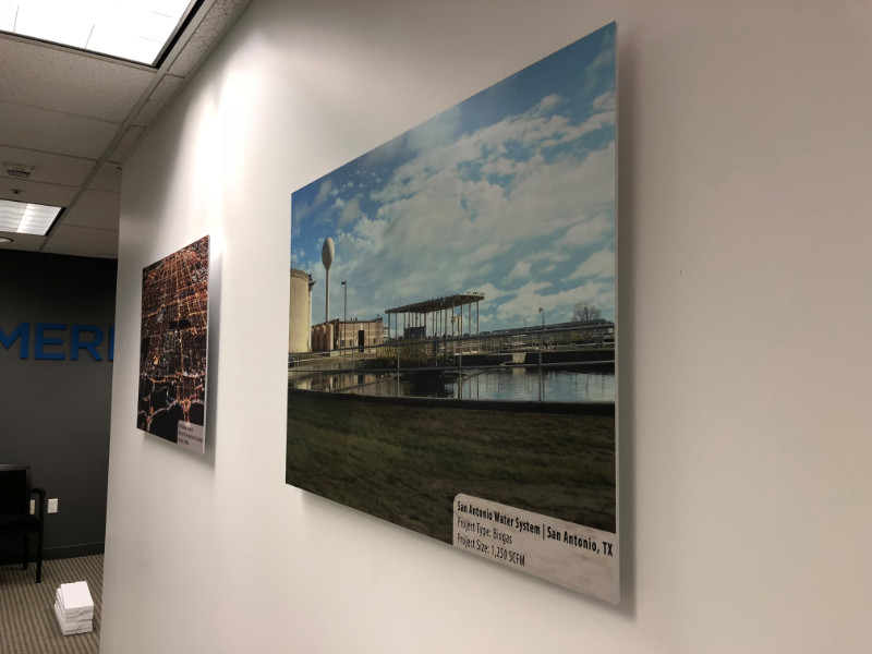wall mounted matte photo prints for brea ca