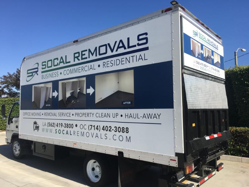 Box Truck Graphics for Hawaiian Gardens CA