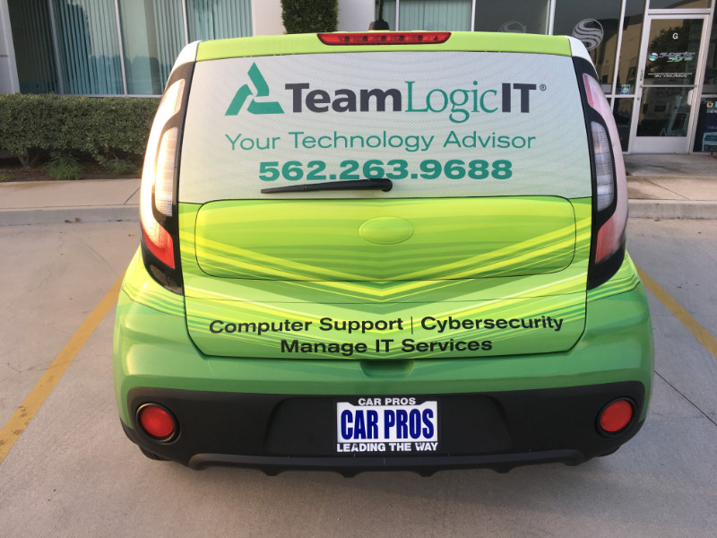 Vehicle Graphics and Office Lobby Signs Orange County CA