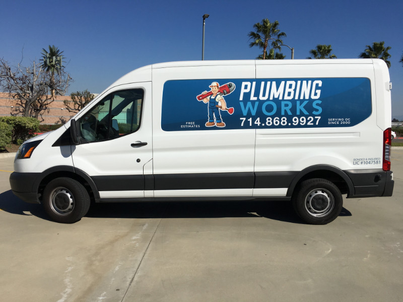 commercial van graphics