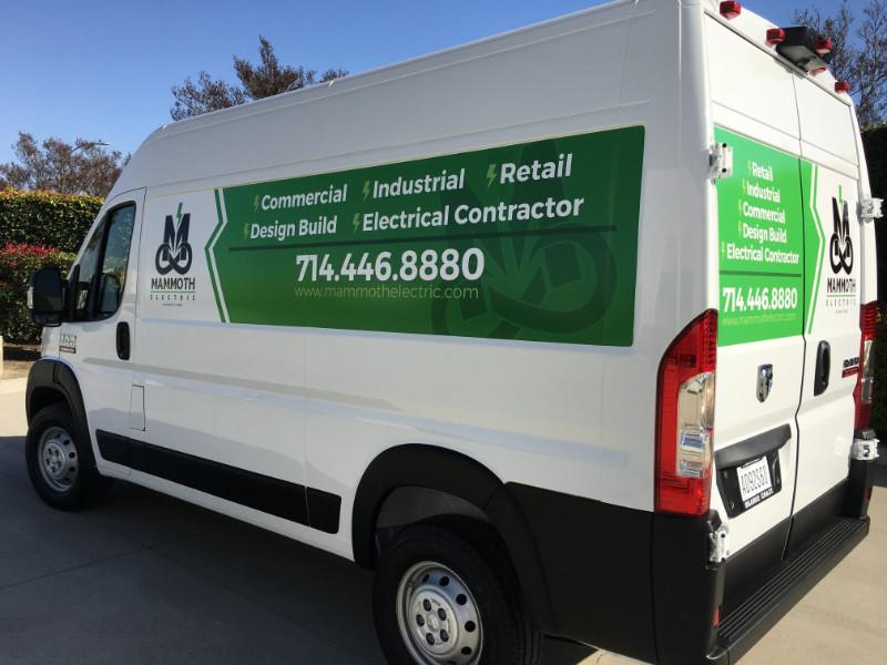Sprinter Van Graphics in Anaheim CA