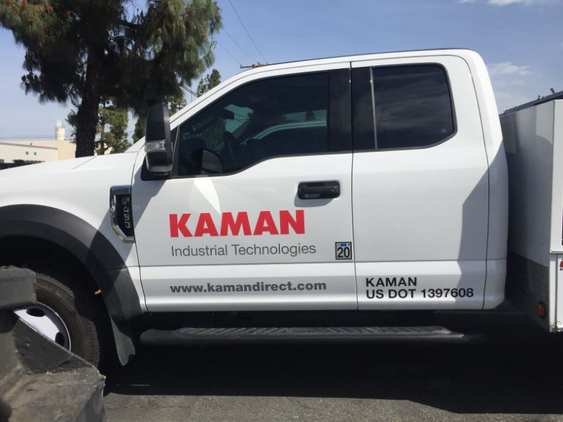 decals and lettering for commercial vehicles in Anaheim and La Mirada