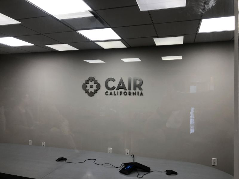 3D Logo Lobby Signs for Conference Rooms in Anaheim CA