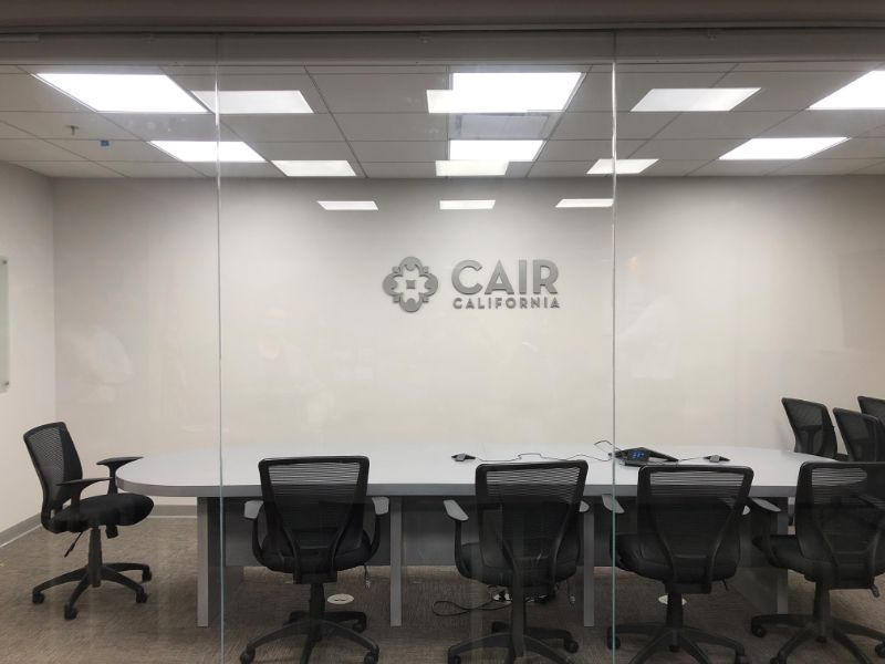 Conference Room Wall Logo Signs in Anaheim CA