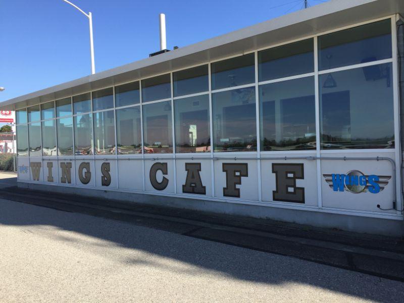Custom designed vinyl lettering for restaurants in Fullerton CA