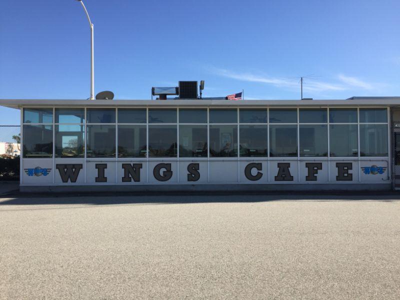 Exterior vinyl lettering for buildings in Fullerton CA