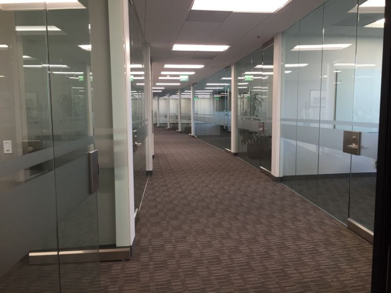 Frosted window glass graphics in Anaheim CA