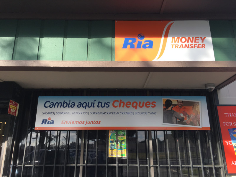 Signs and Graphics for Money Transfer Companies Los Angeles County CA